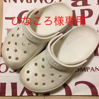 crocs - クロックス 白