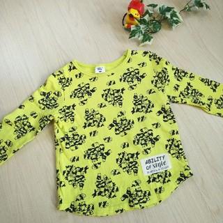 アカチャンホンポ(アカチャンホンポ)の赤ちゃん本舗 トレーナー パンダ柄 黄色 100㎝(Tシャツ/カットソー)