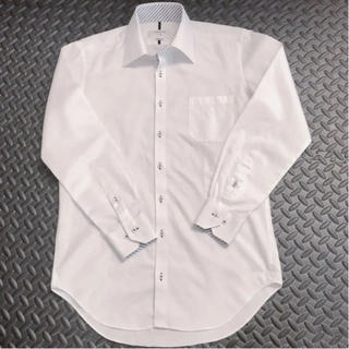 オリヒカ(ORIHICA)のORIHICA ワイシャツ M 39-81 ホワイト(シャツ)
