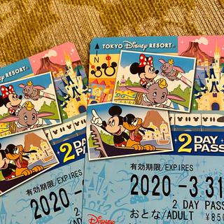 Disney - リゾートライン フリー切符