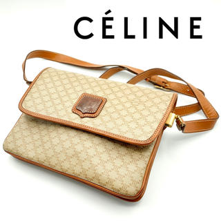celine - 【中古品|希少】オールドセリーヌ ブラゾン柄 PVCレザー ショルダーバッグ