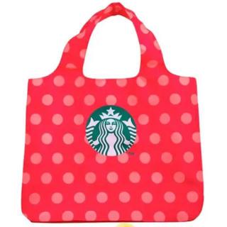 Starbucks Coffee - スターバックス トートバッグ エコバッグ バック 台湾 ピンク 新品