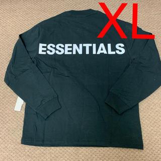 FEAR OF GOD - XL Fear Of God Essentials Long sleeve 黒