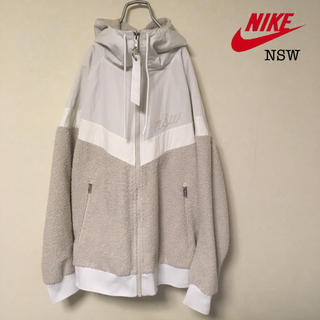 NIKE - NIKE NSW シェルパウィンドランナー ジャケット パーカー