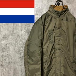 【デッドストック】オランダ軍☆SOFTYソフティーリバーシブルジャケット