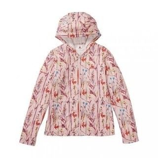 ルコックスポルティフ(le coq sportif)の新品 花柄 パーカー ピンク フード ウエア ウィンドジャケット ボタニカル(パーカー)