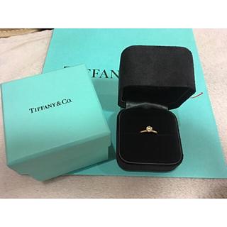 Tiffany & Co. - ティファニー ダイヤモンド リング 0.5カラット
