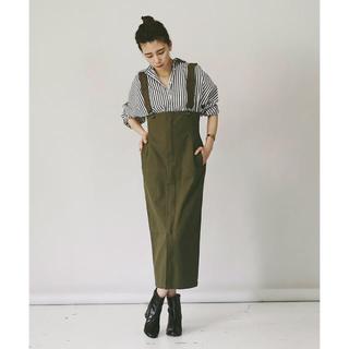IENA - カレンソロジー ユニバーサルオーバーオール ジャンプスカート