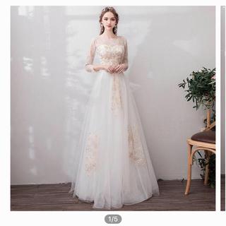 二次会 ウエディングドレス (ウェディングドレス)