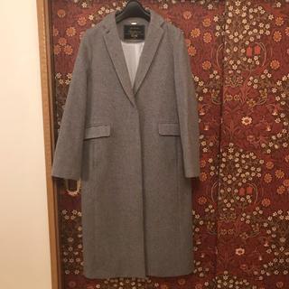 最終価格【SLOBE IENA】ビーバーロングチェスター  38サイズ