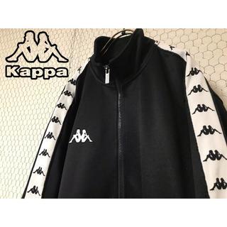adidas - 【希少・90s】kappa 白サイドライン 胸刺繍 トラックジャージ