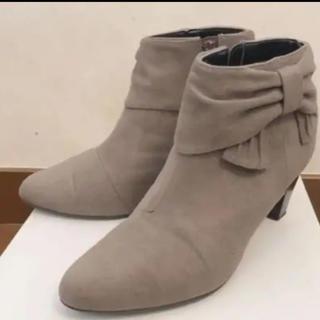 ヴェリココ(velikoko)のヴェリココ リボンショートブーツ(ブーツ)