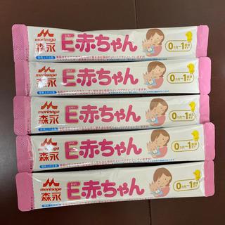 モリナガニュウギョウ(森永乳業)のE赤ちゃん スティックタイプ 5本(その他)