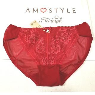 AMO'S STYLE - Triumph AMO'S STYLE ホリデーコレクションショーツL 赤