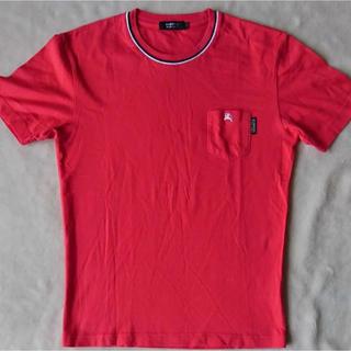 BURBERRY BLACK LABEL - ◎No.1バーバリーブラックレーベル 半袖Tシャツサイズ2 赤系