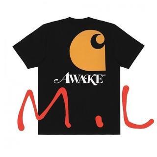 アウェイク(AWAKE)のAwake NY / Carhartt WIP  ブラック M(Tシャツ/カットソー(半袖/袖なし))