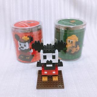 Disney - ディズニー ナノブロック(ミッキー・ミニー・プルート)