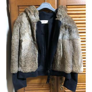 マルニ(Marni)のmiii様専用!超美品!MARNI ファージャケットコート(毛皮/ファーコート)