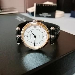 Van Cleef & Arpels - 非常に美品。ヴァンクリーフ&アーペル オール純正 コンビベゼル 腕時計