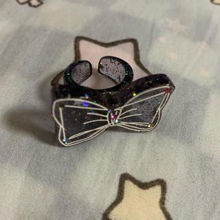 アンジェリックプリティー(Angelic Pretty)のドリーミィホロスコープ リング 黒(リング(指輪))