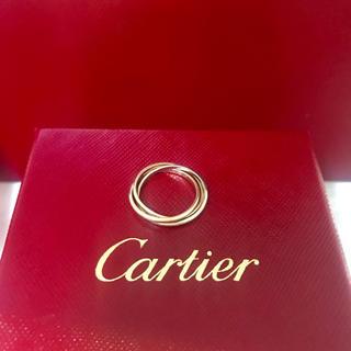 カルティエ(Cartier)のカルティエ Cartier トリニティ リング xs(リング(指輪))