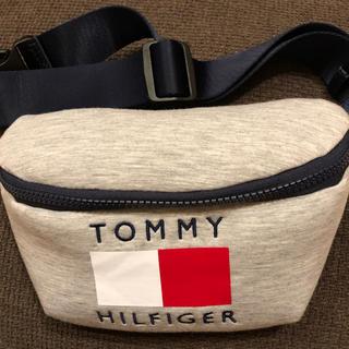 TOMMY HILFIGER - トミーヒルフィガー ウエストポーチ グレー 男女兼用