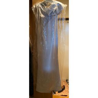 ロングドレス(シルバーグレー)(ロングドレス)