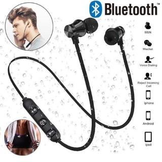 ブルートゥース(Bluetooth)ワイヤレスイヤホン(マイク付)(ヘッドフォン/イヤフォン)
