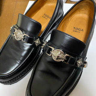TOGA 19aw metal loafer