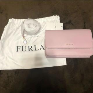 フルラ(Furla)の限定値下げ FURLA フルラ el40 ショルダー ウォレット カメリアピンク(ショルダーバッグ)