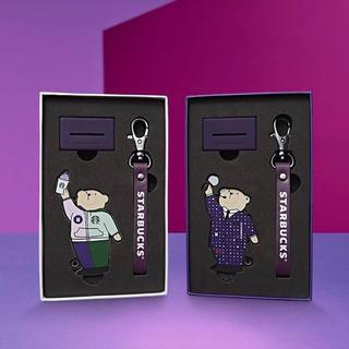 Starbucks Coffee - 【日本未発売】スターバックス BTS コラボキーリング