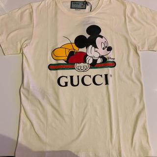 Gucci - 正規品 GUCCI グッチ ディズニー ミッキー コラボ Tシャツ ホワイト