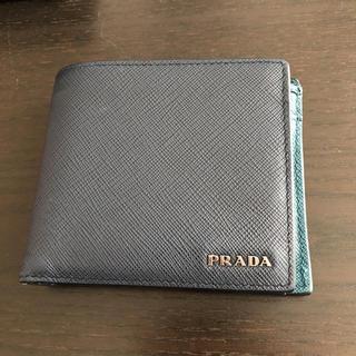 プラダ(PRADA)のPRADA 財布 サフィアーノ 二つ折り(折り財布)