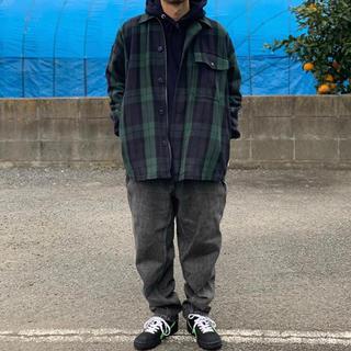 BEAMS - BEAMS SSZ DECK SHIRT S ブラックウォッチ シャツジャケット