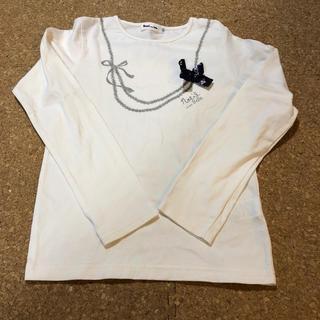 ベベノイユ(BEBE Noeil)のNoeil aime BeBe 140 長袖Tシャツ【美品】(Tシャツ/カットソー)