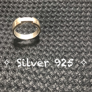 ▣ シルバー Silver 925リング 13号 ▣(リング(指輪))