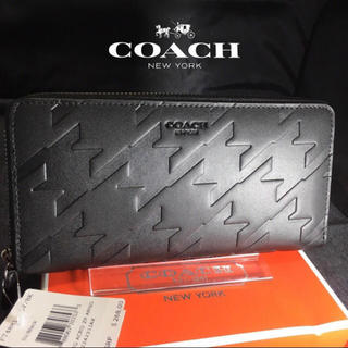 COACH - プレゼントにも❤️新品コーチ正規品 メンズ ラウンドファスナー長財布