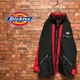 ディッキーズ(Dickies)の【激レア】dickeys ジャケット ビッグシルエット ロゴ 赤 古着 90s(その他)