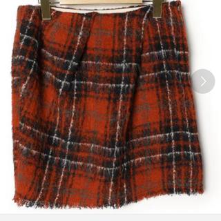 マカフィー(MACPHEE)のMACPHEE アルパカ スカート(ミニスカート)