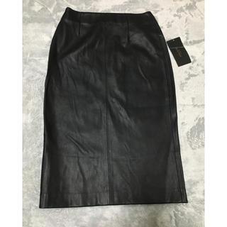 ZARA - タイトスカート ブラック ZARA 革 レザー