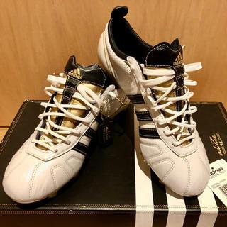 adidas - アディダス アディピュア26cm 海外モデル サッカースパイク ゴールドホワイト