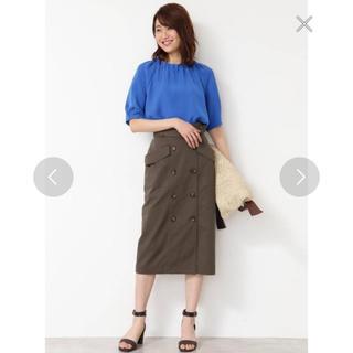 ナチュラルビューティーベーシック(NATURAL BEAUTY BASIC)の【NBB×Oggiコラボ】トレンチタイトスカート(ひざ丈スカート)
