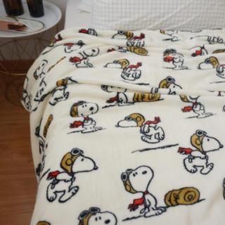スヌーピー(SNOOPY)の新品・未使用 ★スヌーピー★ ブランケット 毛布(毛布)