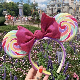 Disney - 海外 ミニー キャンディ ロリポップ カチューシャ