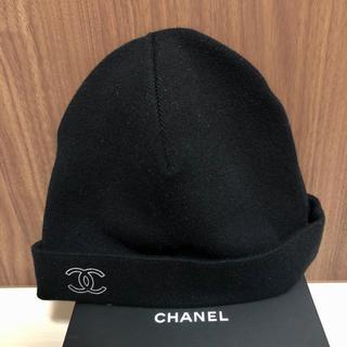 CHANEL - シャネル Chanel ロゴ ニットキャップ ニット帽