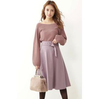 PROPORTION BODY DRESSING - プロポーション  サッシュカラーフレアースカート!今季