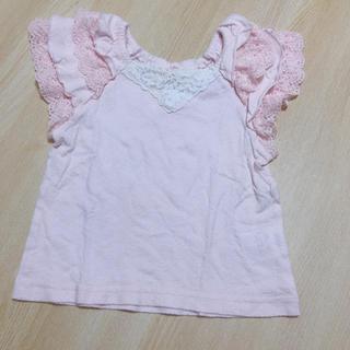 Souris - スーリー☆チュニック♡インナーシャツ☆サイズ90