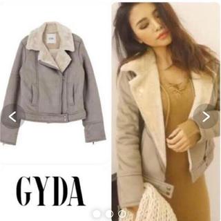 GYDA - GYDA フェイクムートン ライダース ジャケット