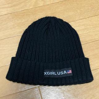 X-girl - x-girl◎ビーニー ニット帽