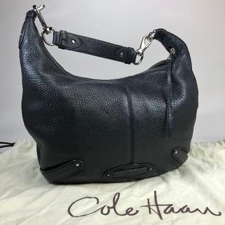 コールハーン(Cole Haan)のharu様専用【美品】コールハーン レザーハンドバッグ 黒 保存袋あり(ハンドバッグ)